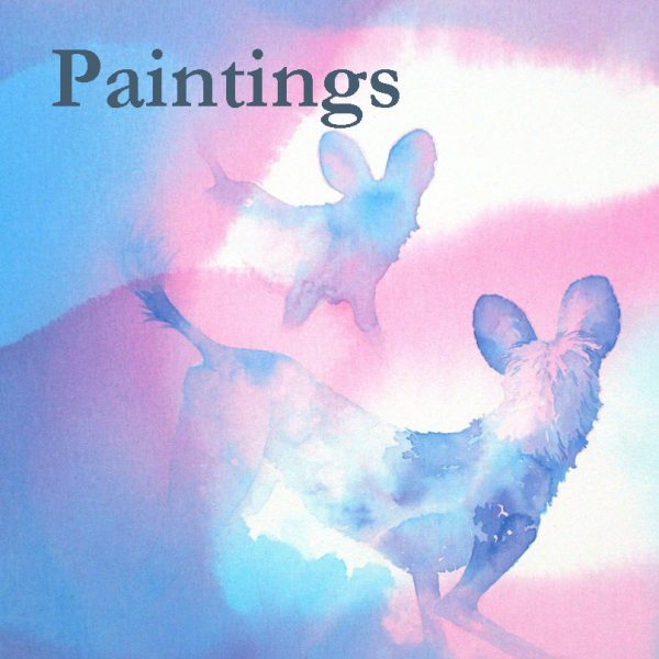 Studio paintings by ALison Nicholls