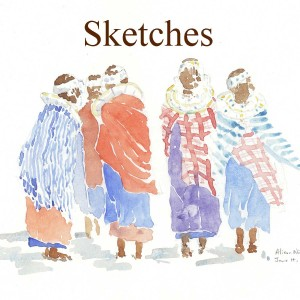 Sketches by Alison Nicholls