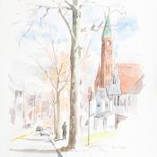 Down Westchester Avenue