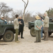 Tea and Cookies on a Game Drive