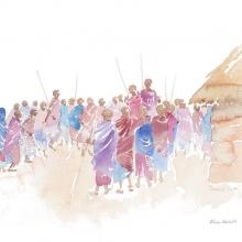 Maasai Celebration © Alison Nicholls