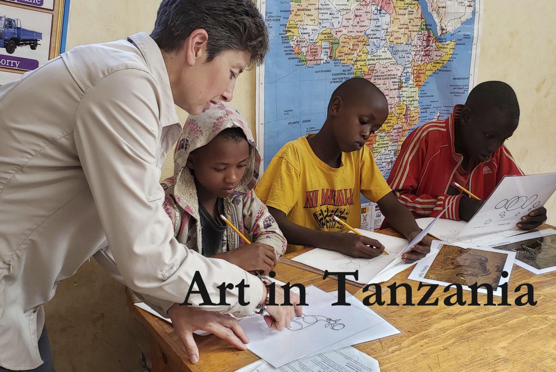 Art in Tanzania - Alison Nicholls